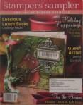 Christmas Slider Card Stampers' Sampler Oct/Nov 2010