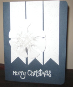 Project 12 6 12 Snowflake card