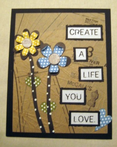Ap 18 13 Collage Create the Life You Love
