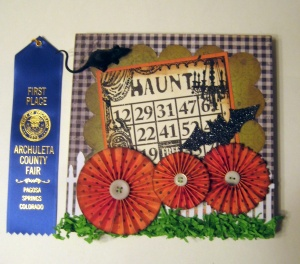 Class Sep 30 13 Haunted bingo Rosette Collage