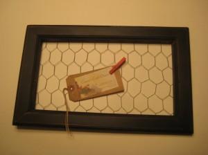 March 19 14 Ckn  Wire Memo Board