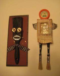 March 5 Paint brush assemblages