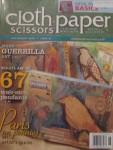 """Pendants Challenge"" Cloth Paper Scissors July/Aug 2010"